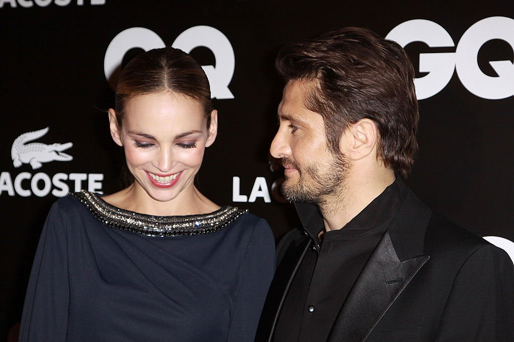 Bixente Lizarazu et Claire Keim le 19 janvier 2011 à Paris. l Source : Getty Images