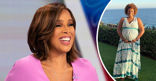 Gayle King and her daughter, Kirby. | Photo: Instagram.com/gayleking  Getty Images