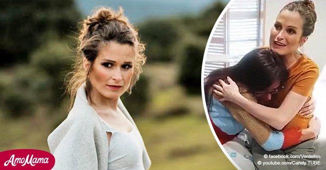 Miriam Saavedra visita a Verdeliss tras ser hospitalizada por complicaciones en el embarazo