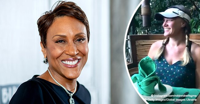 Robin Roberts steals hearts with sweet video of her longtime girlfriend 'up in a tree pod'