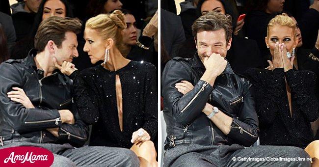 Céline Dion en compagnie de Pepe Munoz avec son décolleté insolent (Photos)
