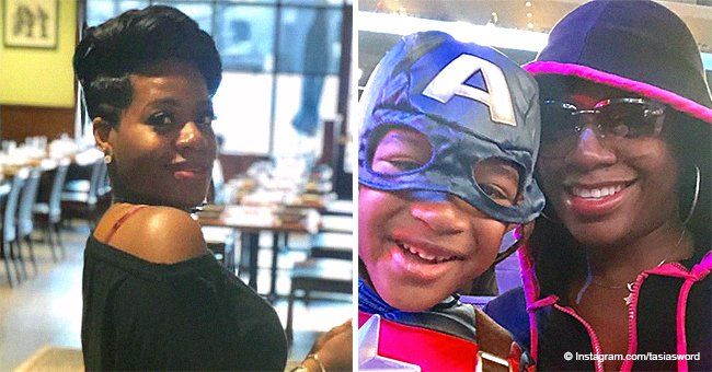 Fantasia Barrino's son Dallas rocks Captain America costume on 'date' with his mommy
