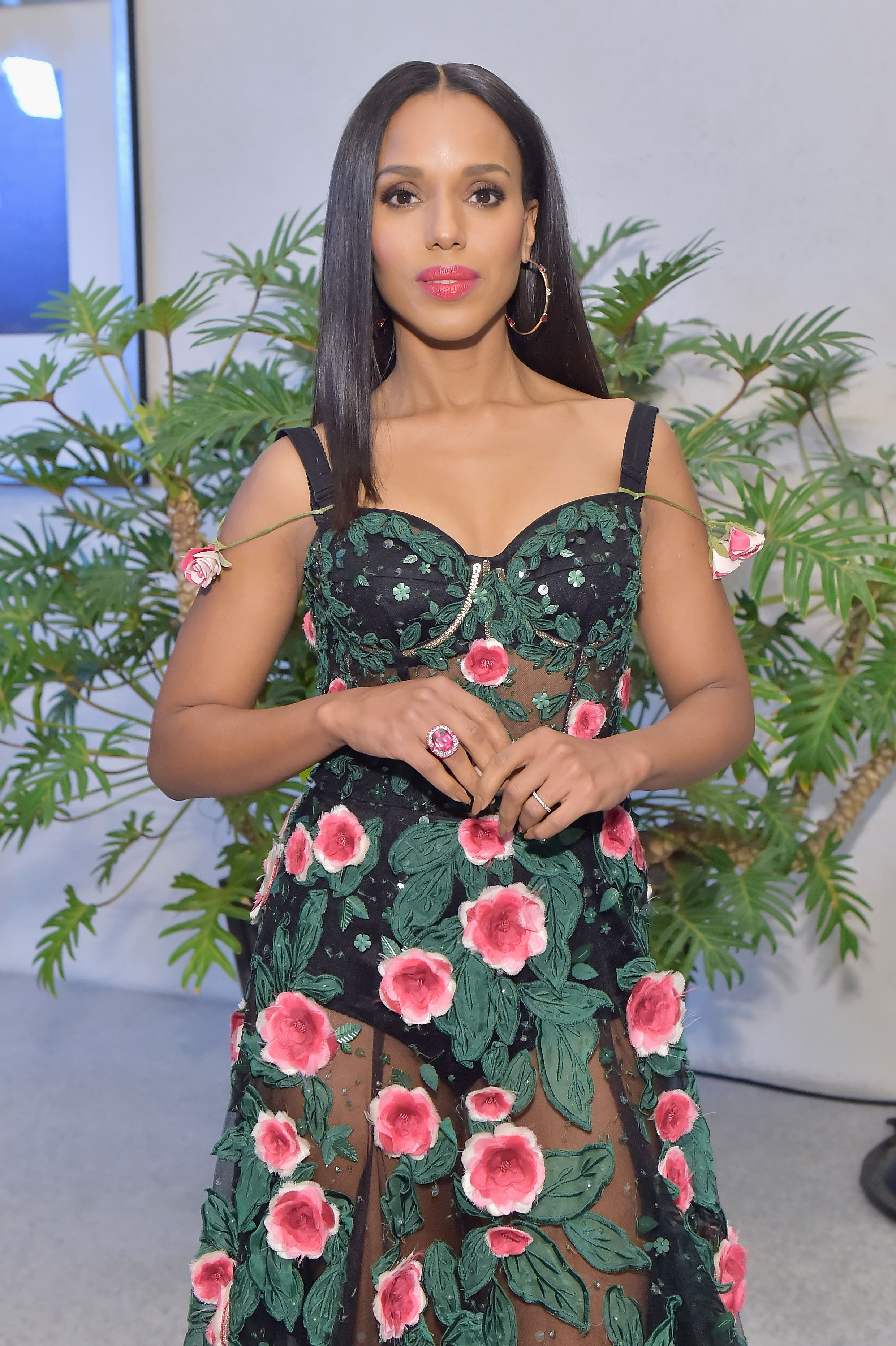 Kerry Washington attends the Costume Designers Guild Awards at The Beverly Hilton Hotel on February 20, 2018 in Beverly Hills, California. | Source: Getty Images