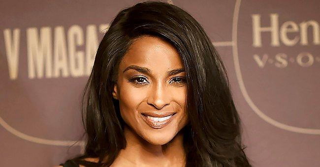 Ciara Snatches Fans' Hearts Showing Her Beautiful Skin & Dreads as She Poses in a Furry Blanket