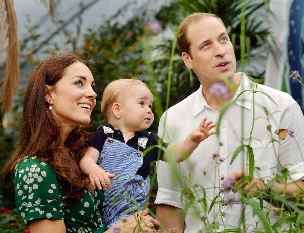 Prince William, Prince George, and Duchess Kate at London's Natural History Museum | Photo: Getty Images