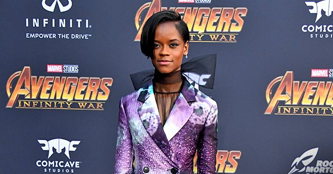 'Black Panther' Star Letitia Wright Flaunts Impeccable Style in Blue Suit for a Magazine Cover