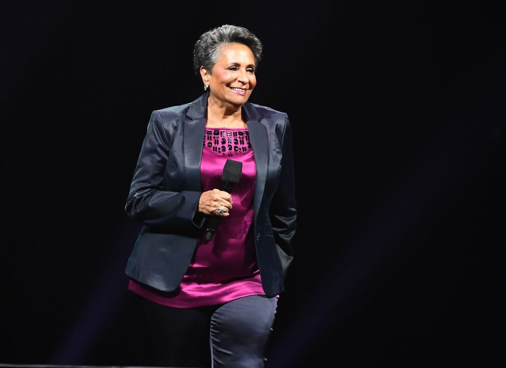Urban One founder Cathy Hughes on stage during the 2018 Urban One Honors in Washington, DC. | Photo: Getty Images