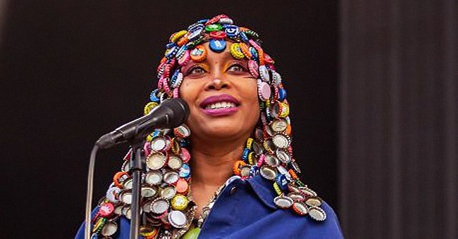 Check Out Erykah Badu's New Photo with Her Daughter as They Posed with Parrots