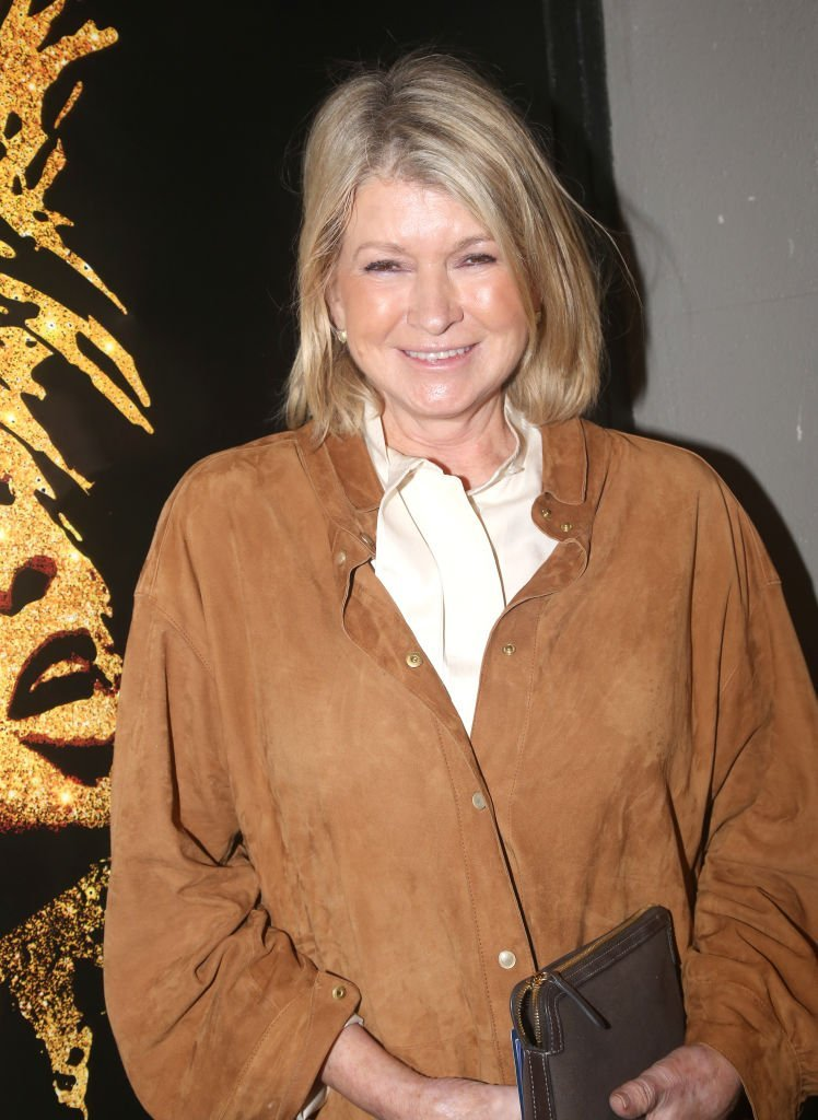 """Martha Stewart attends the opening night of """"Tina - The Tina Turner Musical"""" at Lunt-Fontanne Theatre 