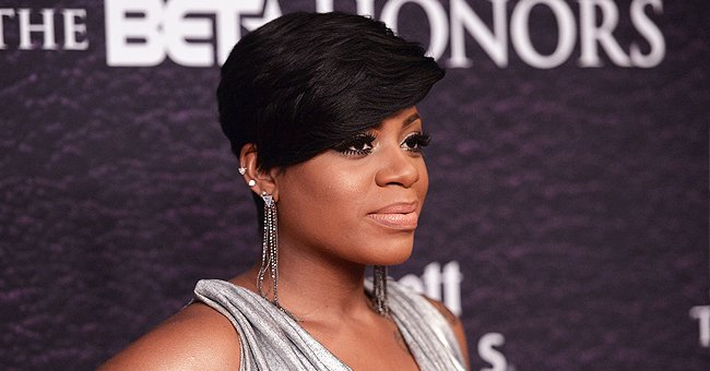 Fantasia Says She 'Never Had These Hips' as She Poses in Tight Dress & Holds Her Baby in New Mirror Selfie