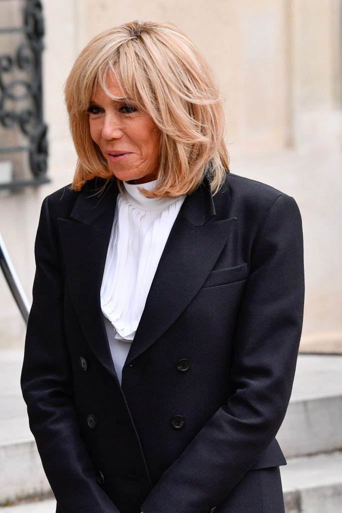La Première dame Brigitte Macron | Photo : Getty Images.