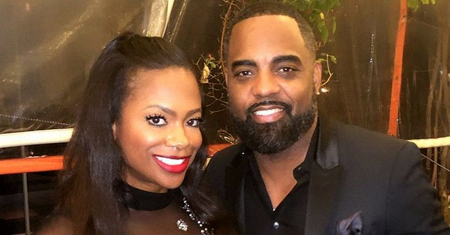 Kandi Burruss Celebrates Pride Month in a Two-Piece Rainbow Outfit, Heels & Hair in Pics
