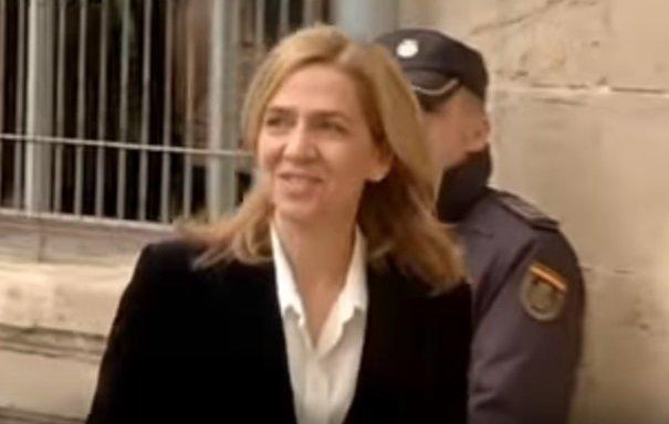 Infanta Cristina visita a su esposo en prisión. | Foto: YouTube/euronews