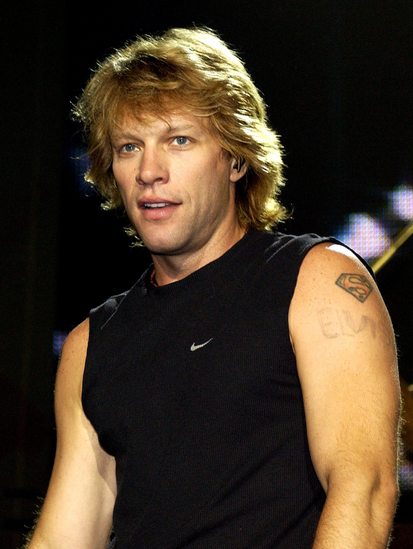 Jon Bon Jovi at Chris Tarrant's Capital Request concert at Wembley Arena. | Source: Getty Images