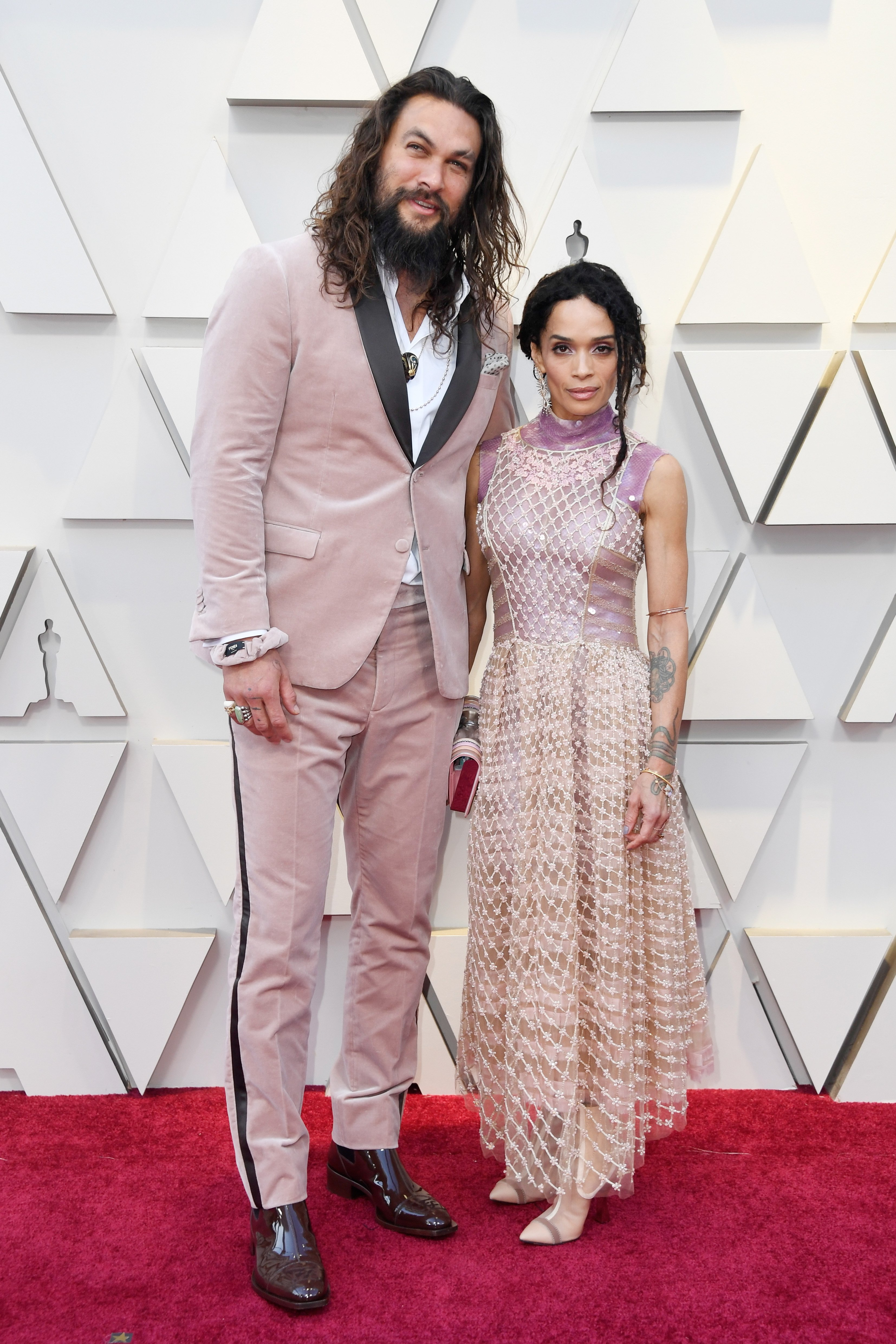 Lisa Bonet and Jason Momoa attend the 2019 Academy Awards. | Photo: GettyImages/Global Images of Ukraine