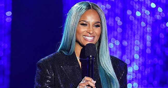 Ciara Looks Cute with Pink Hair Dancing to Michael Jackson Song in a White Bathrobe — See Video