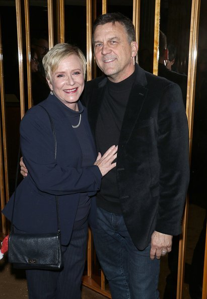 "Eve Plumb and Ken Pace at the after party for ""Noelle"" hosted by Disney November 11, 2019 