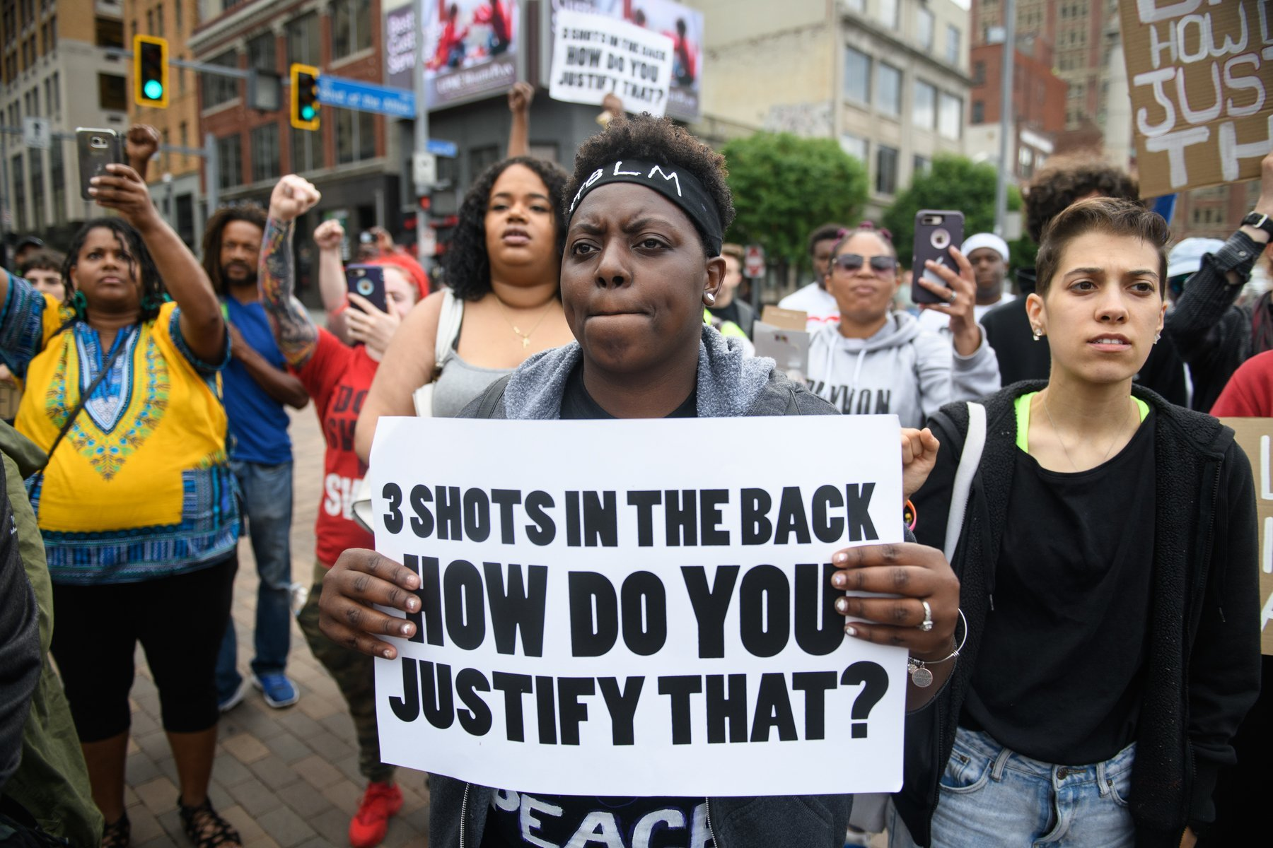 Protests Continue In Pittsburgh In Wake Of Last Week's Police Shooting Of Antwon Rose. | Source: GettyImages