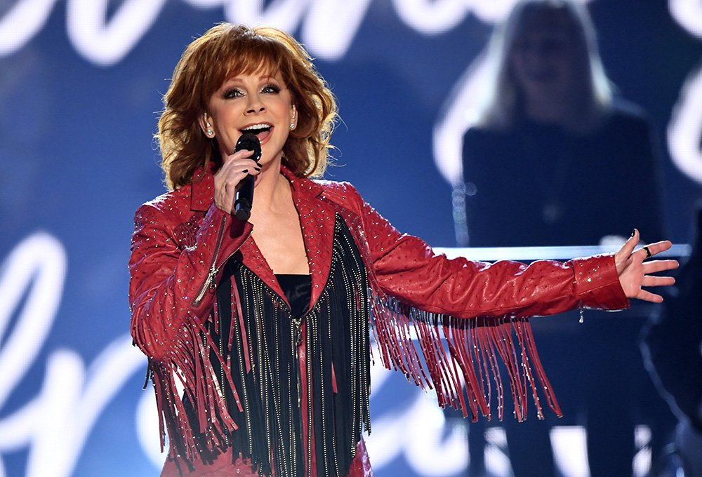 Host Reba McEntire performing onstage during the 54th Academy Of Country Music Awards in Las Vegas, Nevada, in April 2019. I Image: Getty Images.