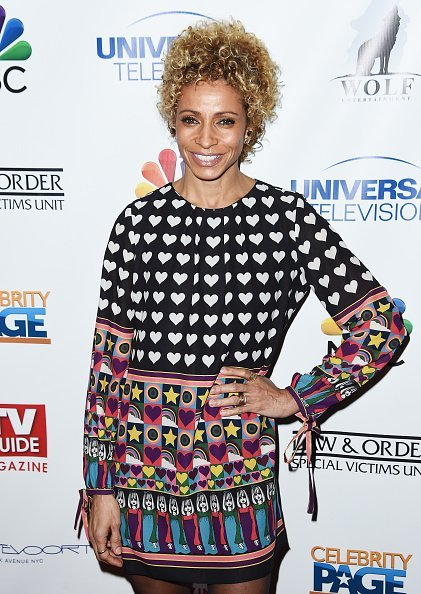 Actress Michelle Hurd at the TV Guide Celebrates Mariska Hargitay on January 11, 2017 | Photo: Getty Images