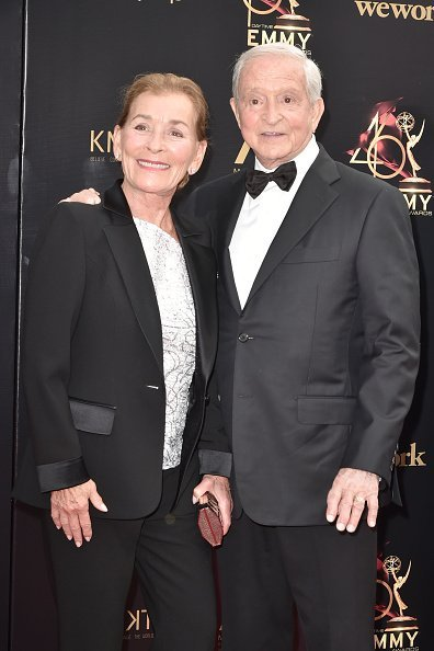 Judge Judy and Jerry Sheindlin attend the 46th annual Daytime Emmy Awards at Pasadena Civic Center in Pasadena, California | Photo: Getty Images
