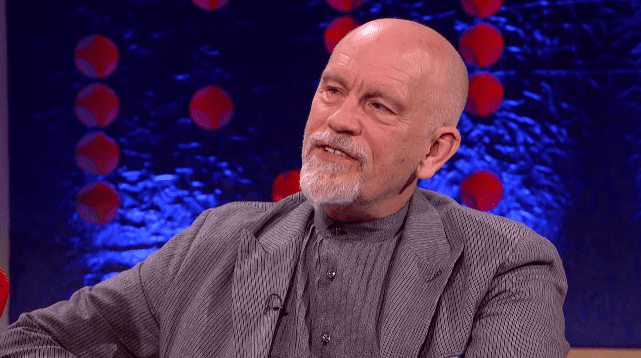 John Malkovich during an interview with Graham Norton in his show in 2013 | Photo: YouTube/BBC