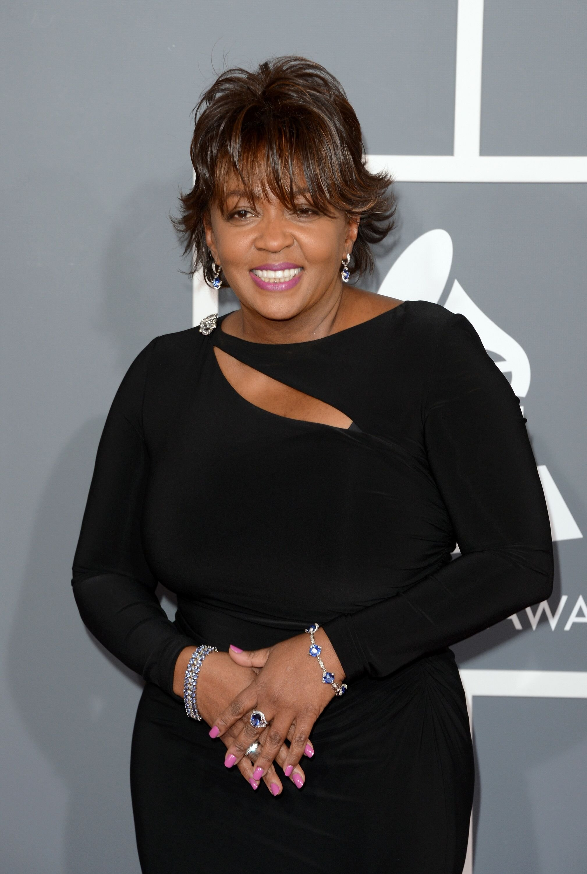 Anita Baker arrives at the 55th Annual GRAMMY Awards at Staples Center | Source: Getty Images