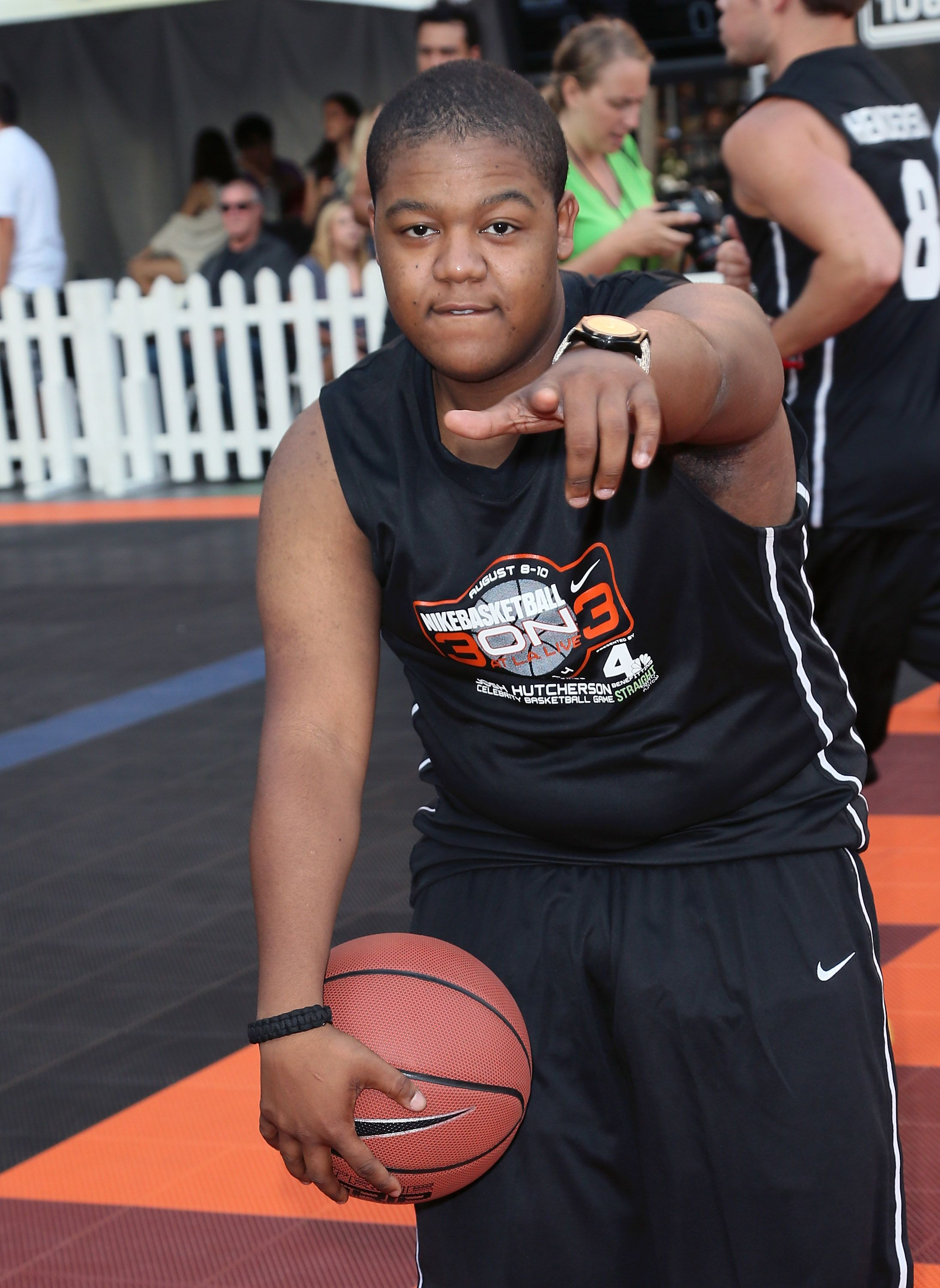 Kyle Massey attends the 3rd Annual Josh Hutcherson Celebrity Basketball Game at Nokia Plaza L.A. LIVE on August 8, 2014 in Los Angeles, California. | Source: Getty Images