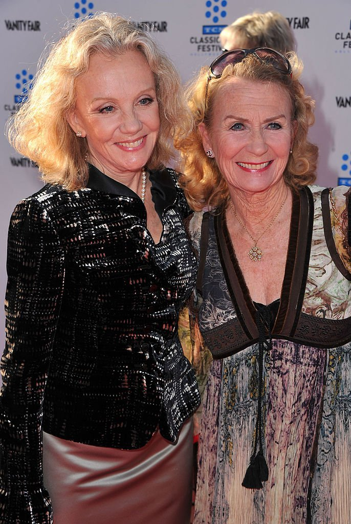 "Hayley (L) and Juliet Mills arrive at TCM Classic Film Festival Opening Night Gala and World Premiere of ""An American In Paris."" 