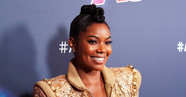 Gabrielle Union's Daughter Kaavia Sits like a Boss on Her Stroller and the Pic Came with an Interesting Message