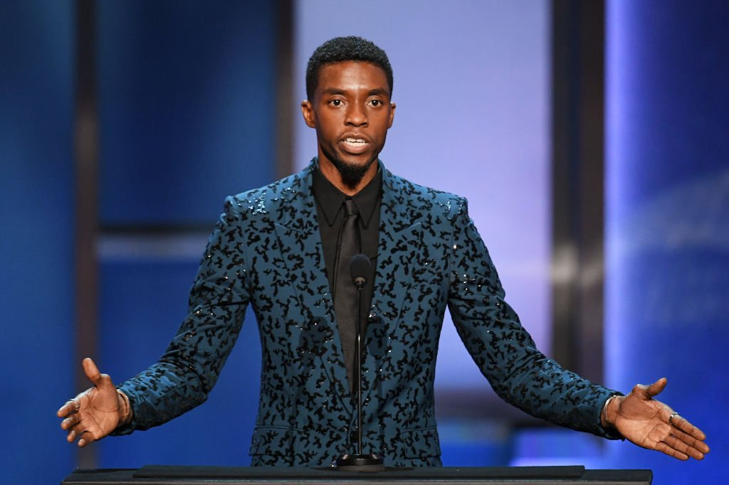 Chadwick Boseman speaks onstage during the 47th AFI Life Achievement Award honoring Denzel Washington in June 2019 | Photo: Getty Images