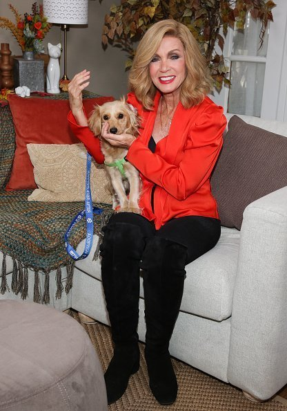 "Donna Mills visits Hallmark Channel's ""Home & Family"" on October 18, 2019 