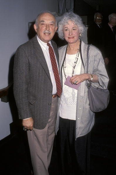 Bill Macy and Bea Arthur on March 14, 1992 at Los Angeles Museum Of Art in Los Angeles, California, United States. | Photo: Getty Images
