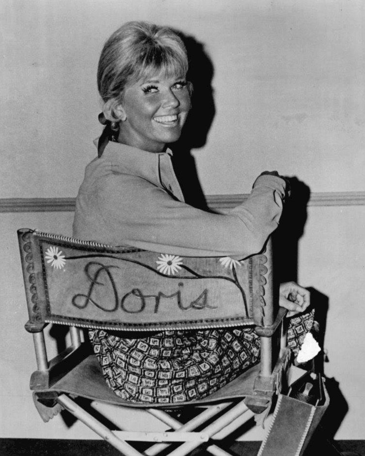 "Day on the set of ""The Doris Day Show"" between 1968 and 1973 