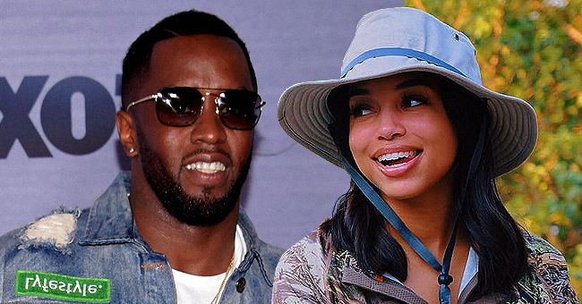 Diddy & Steve Harvey's Daughter Lori Spark Pregnancy Rumors after He Rubs Her Belly on Cabo Vacay