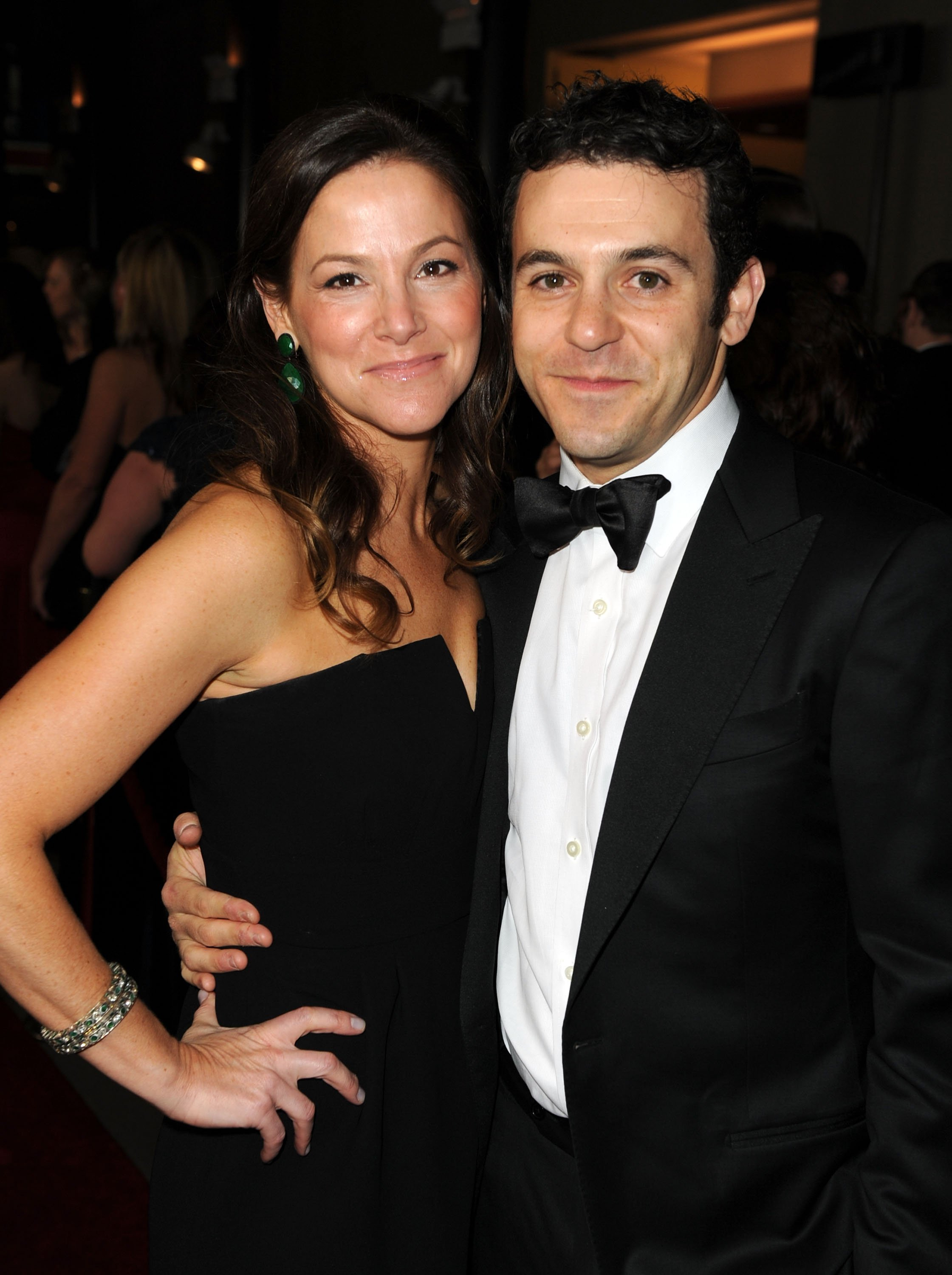 Fred Savage and wife Jennifer Lynn Stone arrive at the 64th Annual Directors Guild Of America Awards held at the Grand Ballroom at Hollywood & Highland on January 28, 2012 | Photo: GettyImages