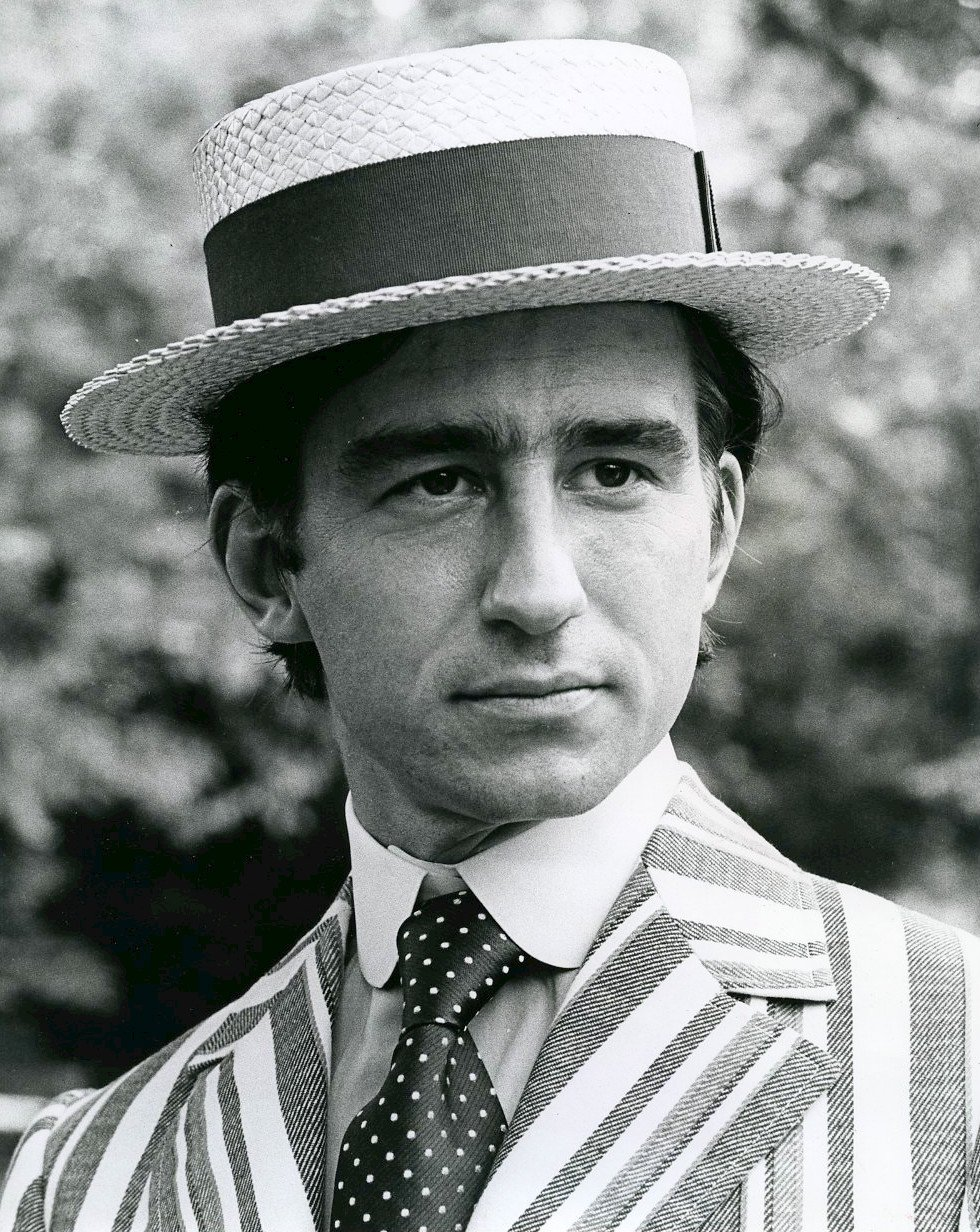 "Sam Waterston sent to annnounce his appearance in ""Much Ado About Nothing"" at the American Shakespeare Festival in 1972. 