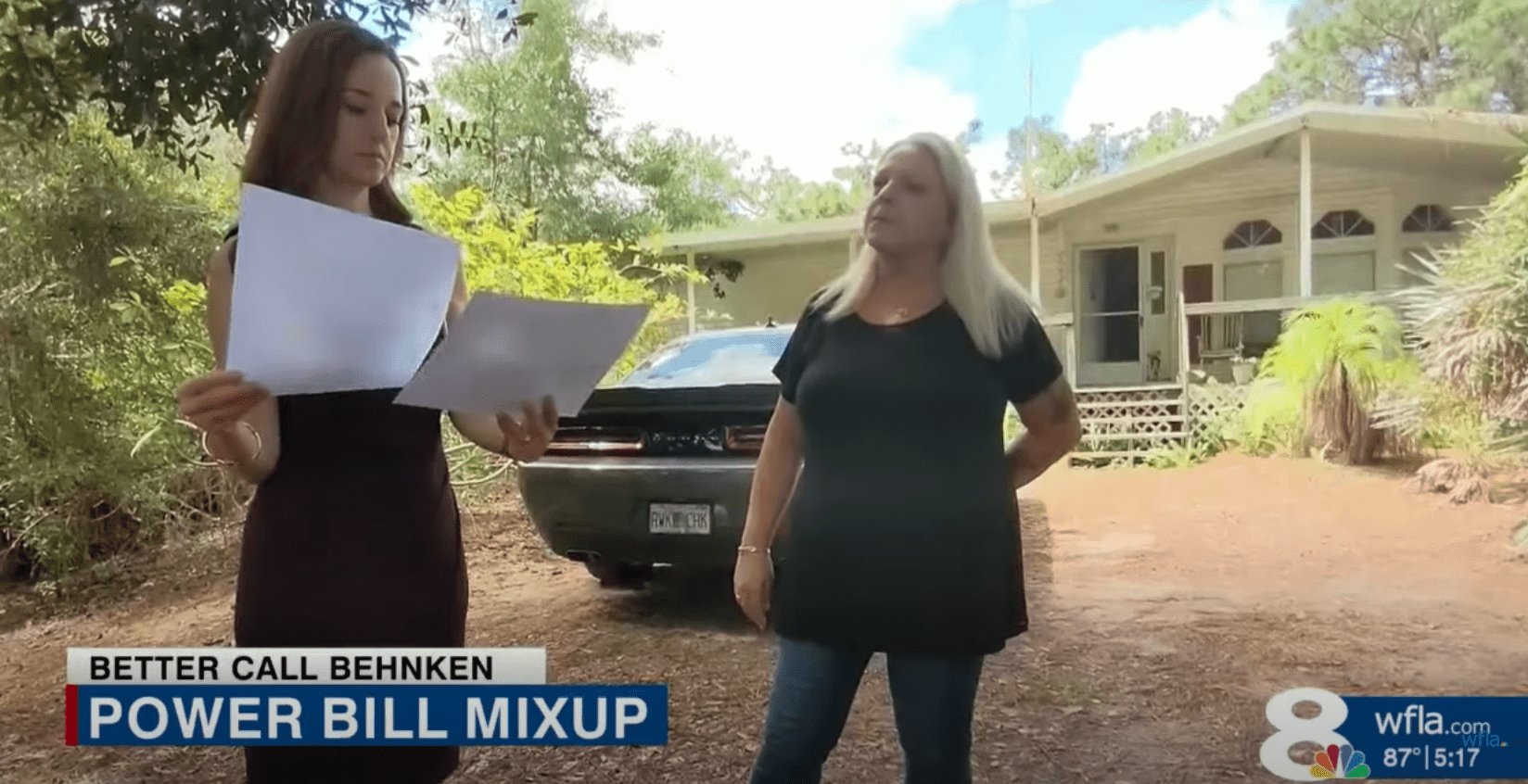 Investigator tries to helps a woman get to the bottom of why her mother's account was debited incorrectly   Photo: Youtube/WFLA News Channel 8
