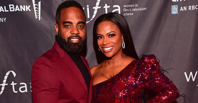Kandi Burruss' Husband Todd Tucker Proudly Shares Pic with Their Daughter Blaze in a White Dress