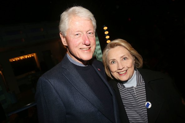 Bill and Hillary Clinton at City Center on October 22, 2019 in New York City. | Photo: Getty Images