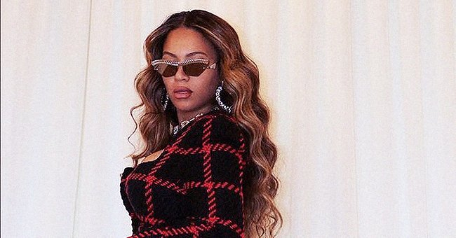 Beyoncé Shows Curves in Tweed Micro Shorts & Matching Blazer on Her 13th Wedding Anniversary