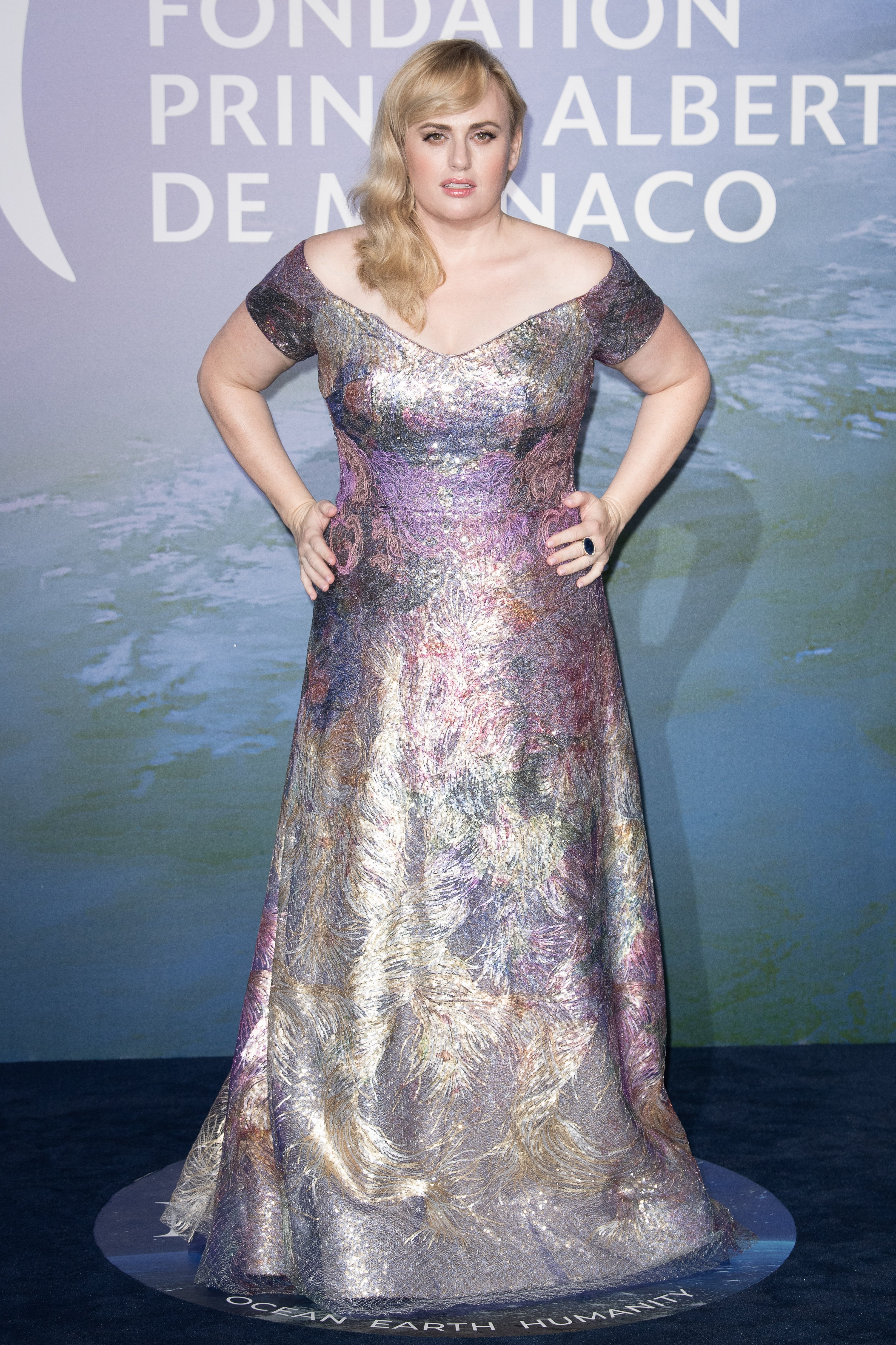Rebel Wilson at Monte Carlo Gala for Planetary Health, September, 2020. | Photo: Getty Images.