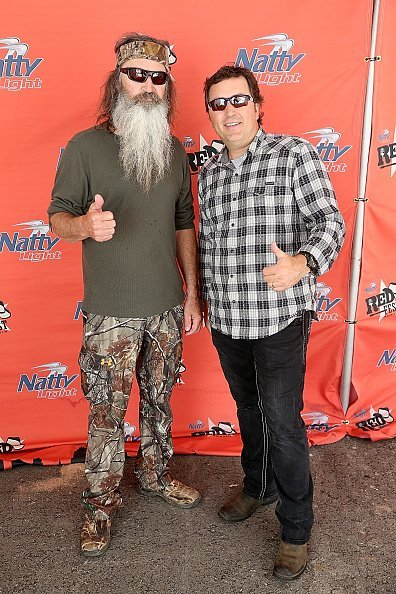 Phil Robertson and Alan Robertson at the Austin360 Amphitheater on May 25, 2014 in Austin, Texas | Photo: Getty Images