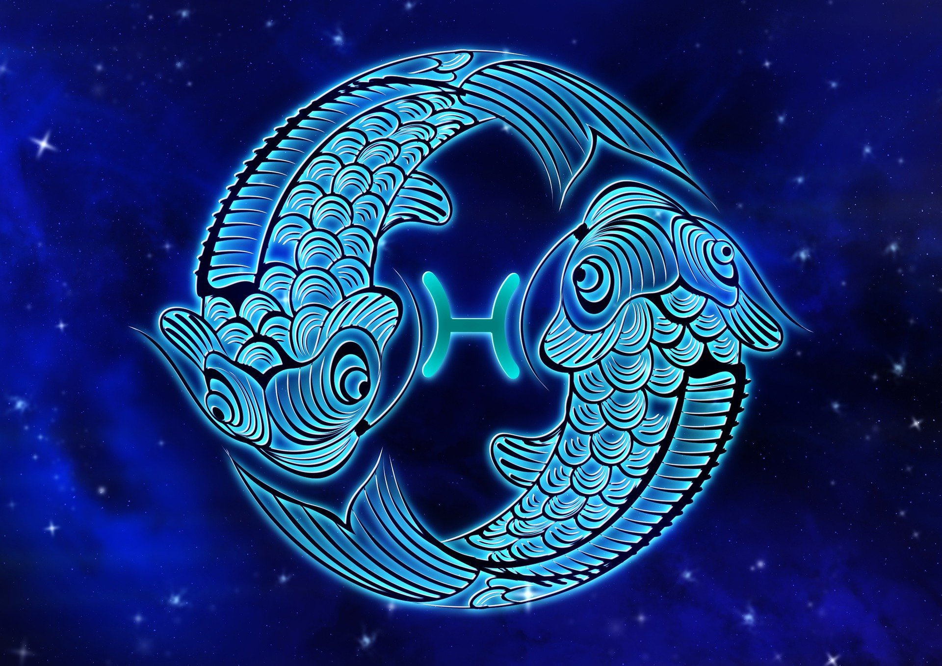 Pictured - A depiction of a Pisces star sign | Source: Pixabay