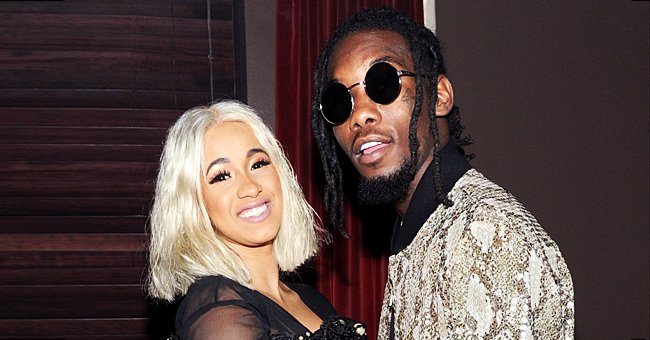 Check Out Cardi B's Husband Offset's New Hairstyle That He Decorated with Different Objects