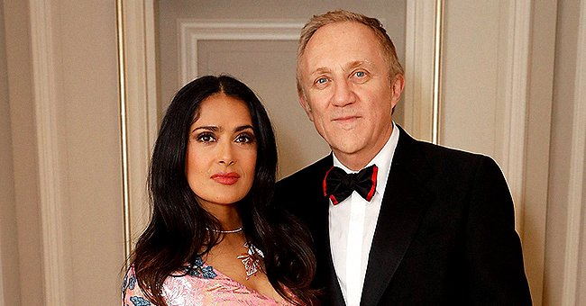 Salma Hayek Wishes Husband François-Henri Pinault on His 58th Birthday with a Cute Post