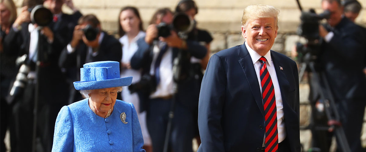 Here's What the Queen Reportedly Told Donald Trump during the Final Minutes of His State Visit