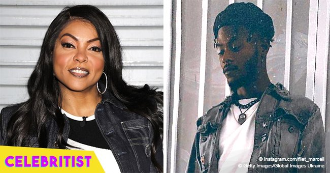 Taraji P. Henson's Model Son Marcel Is All Grown Up & Looks Just Like His Mom