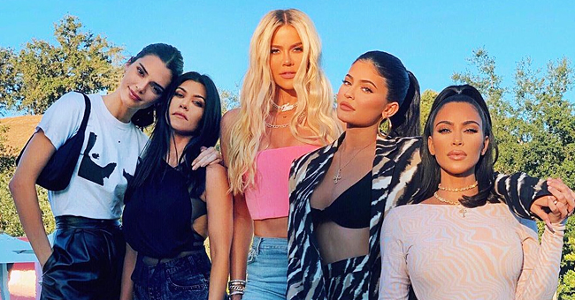Kim Kardashian Shares a Warm Family Photo with All Her Sisters