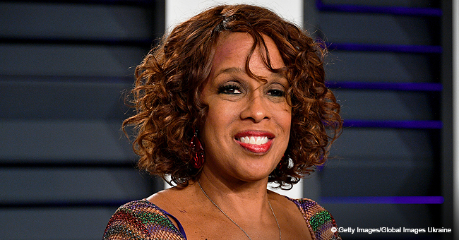 Gayle King Stuns in Long Red Dress in Recent Picture with Adult Son Who Looks Just like Her